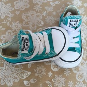 Converse All Stars Chuck Taylor Teal Kids sneaker